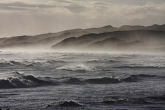Brenton-on-sea, South Africa (BrianReid) Tags: africa sea mist beach waves south knysna brenton