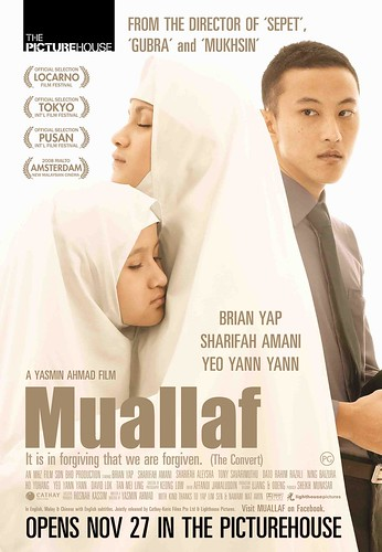 Muallaf Singapore poster