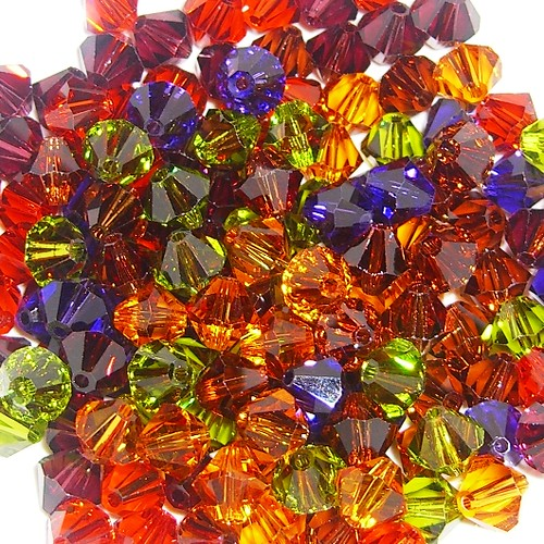 swarovski crystals fall colors