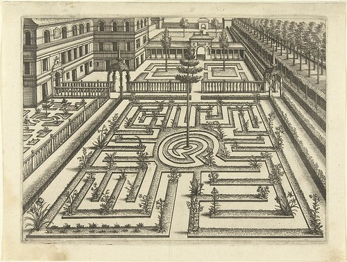 Labyrinth - garden architectural design
