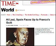 Articulo en Time sobre el auto de Garzón