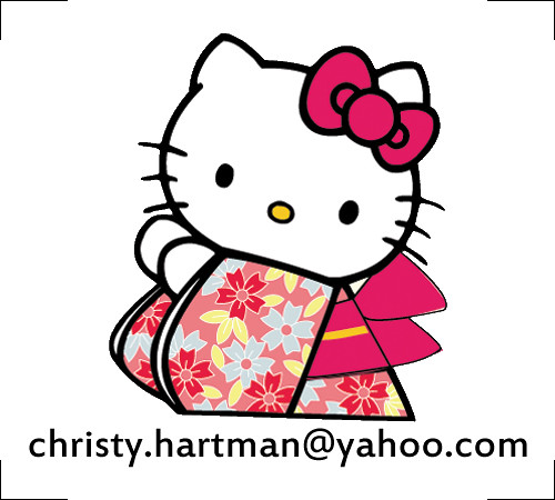 Customized and Printable Hello Kitty Stickers