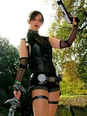Lara Croft - Lucca Cosplay 2008