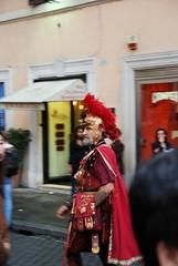gladiator (kuronatto) Tags: italy rome piazzadispagna 剣闘士 2008autumn