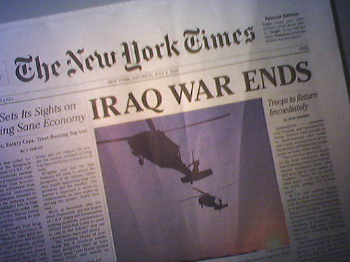 Iraq War Ends