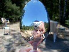 there is no spoon (mayonez1986) Tags: summer reflection spoon lato odbicie yka zakrzywienie sztuciec