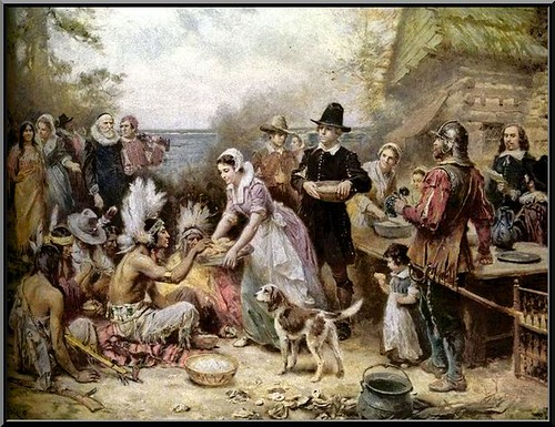 The First Thanksgiving de Jean Louis Gerome Ferris