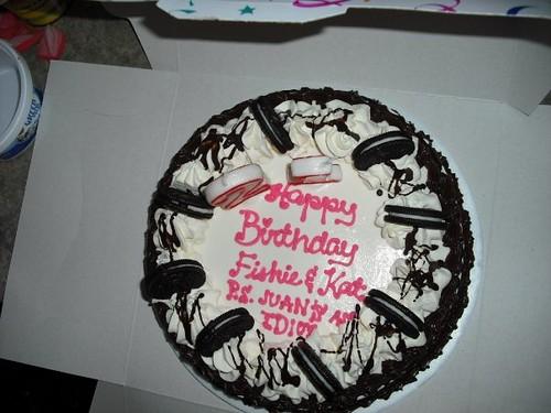 Happy Birthday Fishie & Kat  P.S. Juan is an idiot