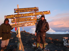 Made it! Uhuru Peak!