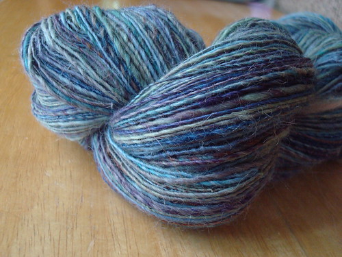 Mystery skein, single ply