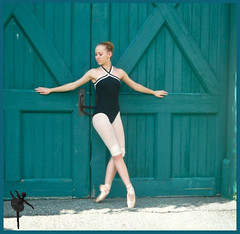 barndance (dancer Dallagio) Tags: ballet 1025fav barn point outside dance ballerina shoes doors dancer tights pointe pointeshoes croise zikill colourartaward dancerdallagio bunhead colorfullaward musicsbest
