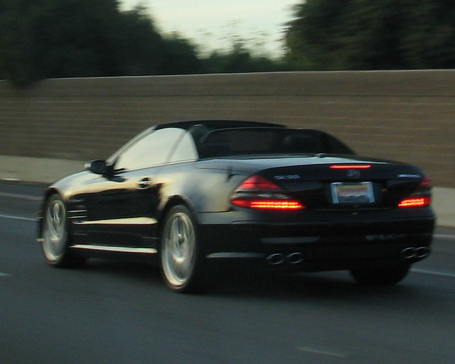 Mercedes on the 101 by Eleventh Earl of Mar