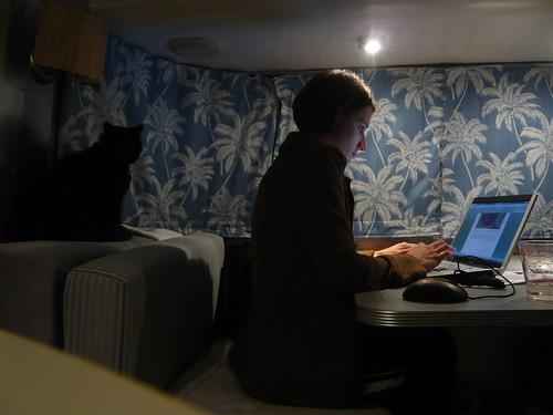 Nightly blogging
