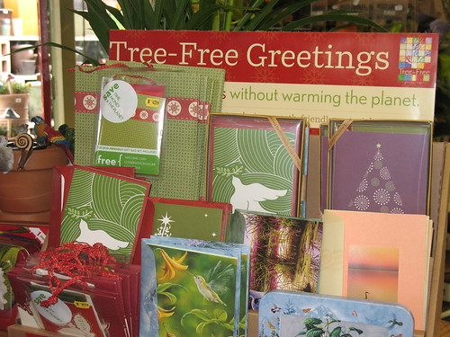 eco friendly gift wrap bags and cards