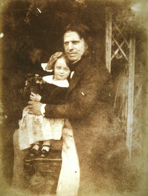 David Octavius Hill with his daughter Charlotte by National Galleries of Scotland Commons