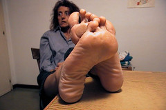 wrinkled feet.2 (RoughToughSoleMan) Tags: feet female fetish foot heels rough tough soles cracked calloused