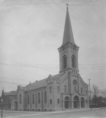 Newly constructed St. Augustine Church, 1908 ~courtesy of Zimmerman Architectural Studios