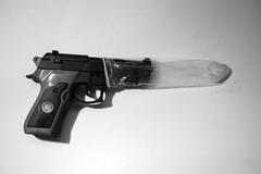 como parar las balas (rakelilla/robin) Tags: espaa spain nikon gun stop cordoba condon pistola seguridad rakel artisticphotography preservativo parar balas fotografiaartistica andalcuia rakelilla