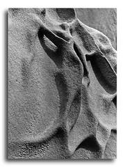 Cristo crucificado-1982. (Luis M) Tags: abstract blancoynegro rocks abstracto astratto rocas roches abstrait hondarribia jaizkibel cristocrucificado