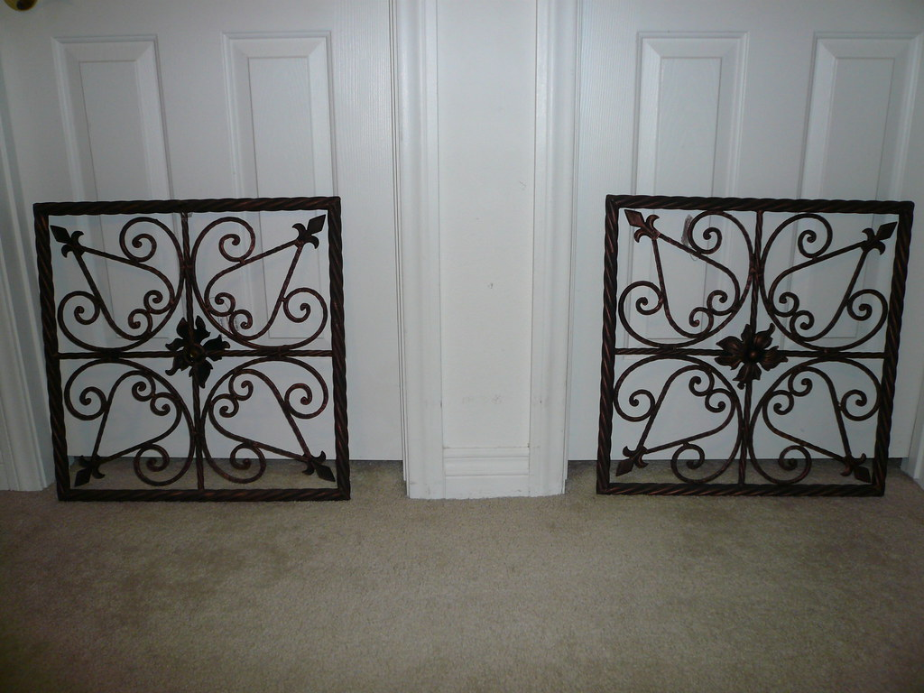 Metal Wall Decor-One pair-(#35)SOLD!