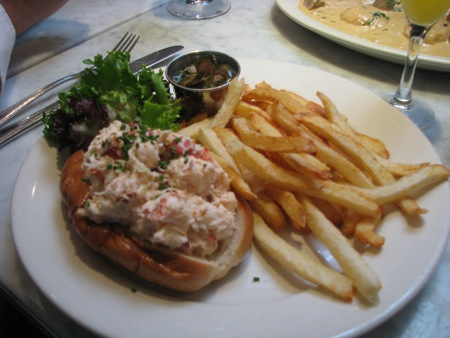 Lobster Roll at Ed's Lobster Bar
