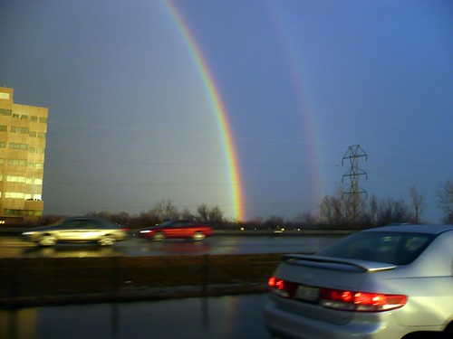 Double Rainbow in Columbus