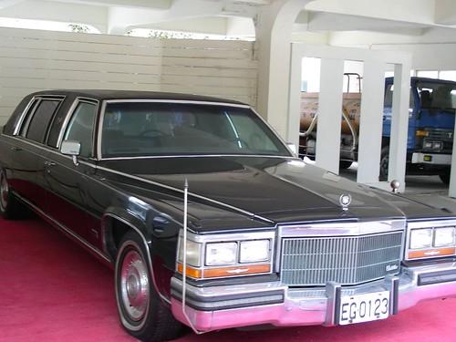 士林官邸-總統座車