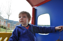 Multi-tasking (Jeff Youngstrom) Tags: boy playground nathan issaquah memorialfield