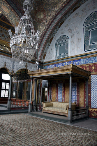 Imperial Hall in the Imperial Harem, Topkapi Palace, Istanbul, Turkey