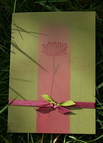 clean & simple flowercard
