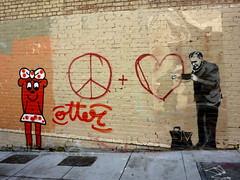 Otter+ Banksy - by davitydave