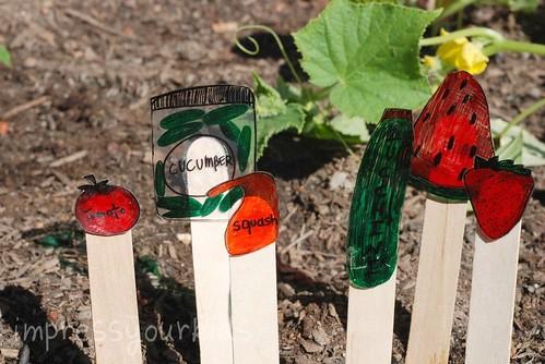 garden stakes craft