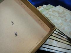 1965 Congoleum-Nairn Asbestos Floor Tile (Asbestorama) Tags: vintage tile 60s floor inspection vinyl retro safety sample dominique vat survey resilient salesman 1964 1060s nairn asbestos covering congoleum specifier