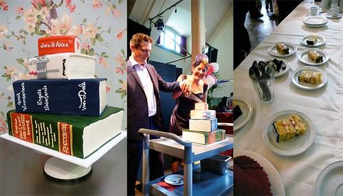 Jorn & Akke Wedding Cake by CAKE Amsterdam - Cakes by ZOBOT