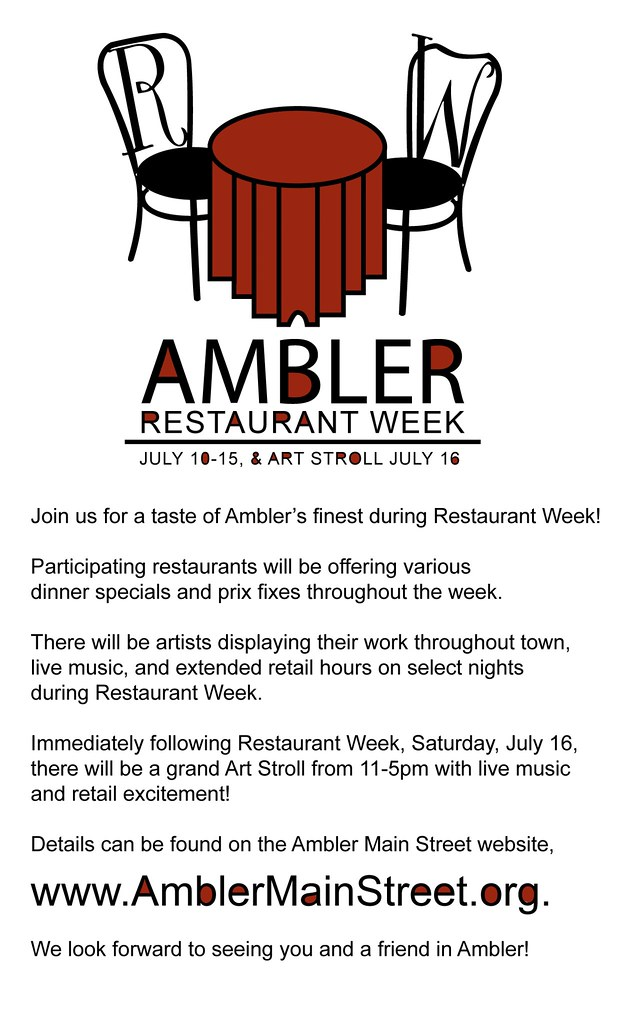 Ambler Restaurant Week 2011
