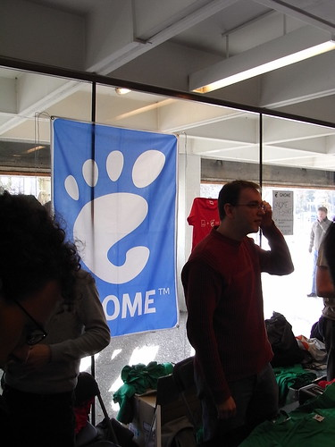 GNOME booth