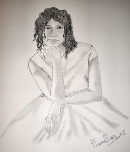 [Disegno] Ritratto Dani album nozze 2326961506_46c9b50bd0