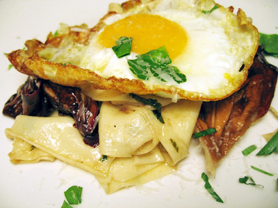 Egg papardelle
