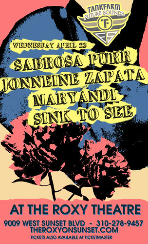 Sabrosa Purr/Jonneine Zapata/Maryandi/Sink to See 4/23