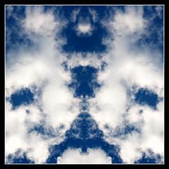 clouded rorschach test (thomas lieser (thomas-lieser.smugmug.com)) Tags: sky test clouds canon square eos himmel wolken sigma rorschach 11 symmetry 2008 spiegelung 1x1 shrink clouded quadratisch psychotherapy wolkig psychoanalysis kostenlos symmetrie psychologe psychotherapie behandlung canoneos400d sigma1770mmf2845dcmacro canondigitalrebelxti drdebiliscausamettwurstonkelwart ichsehewaswasdunichtsiehst freeshrinking pschychotherapie pschychoanalyse brainshrinking pschychiater klecksbildermalanders klecksbilder