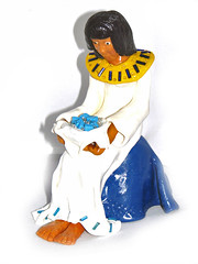 Cleopatra in Fimo.