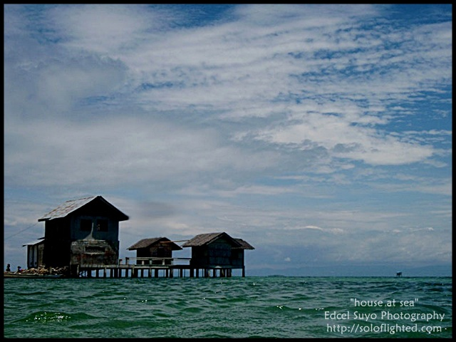 house at sea