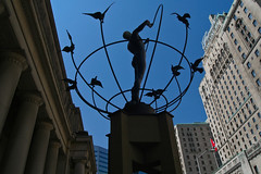 Monument to Multiculturalism, outside Union Station, by Francesco Pirelli