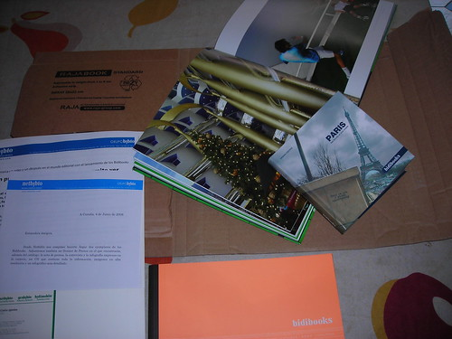 Bidibooks recibidos (by jmerelo)