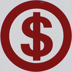 dollar sign $  By Leo Reynolds on flickr