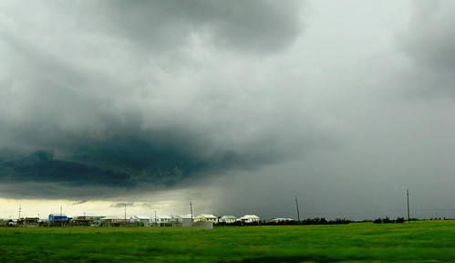 An Approaching Storm on Grand Isle