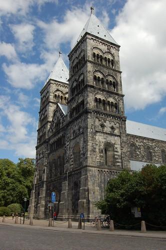 Lundの大聖堂