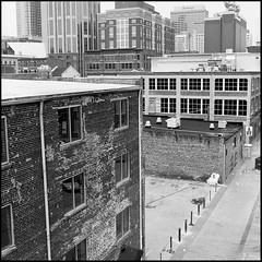 View of Downtown Nashville (Ron Obvious) Tags: angles