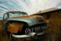 Abandoned in Alamillo (jwoodphoto) Tags: auto newmexico abandoned decay rusted backroad crusty alamillo jwoodphoto