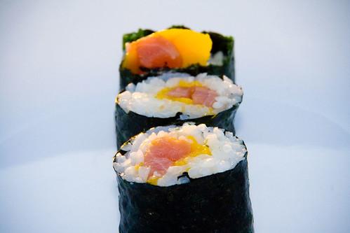 Mango Tuna Tango – Sushi Day